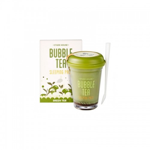 Ночная маска для лица Etude House Bubble Sleeping Pack Green Tea 100 гр