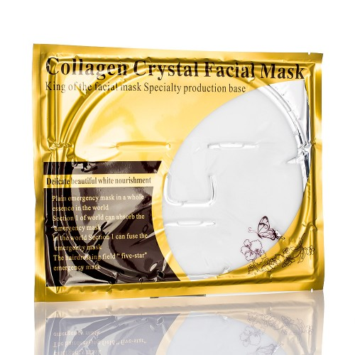 Белая маска для лица кристальный коллаген Collagen Crystal Facial Mask