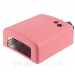 УФ лампа 36 W - электронная белая, розовая, сиреневая