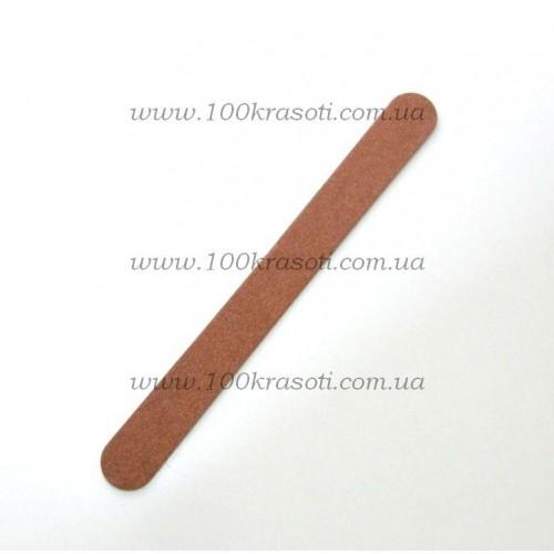 Пилка для натуральных ногтей на деревянной основе - 120*180