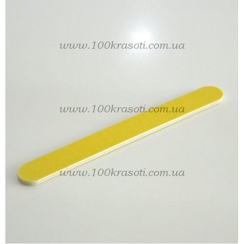 01_Пилка для натуральных ногтей желтая 180*240
