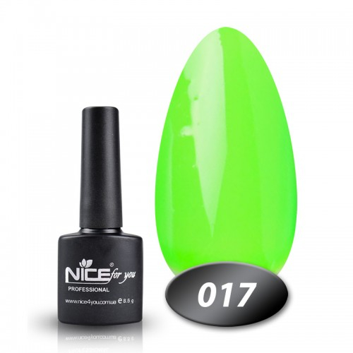 Гель-лак Nice for you Professional 8,5 ml №017