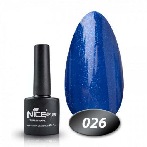 Гель-лак Nice for you Cool - №026