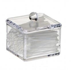 Органайзер для ватных дисков и палочек квадратный